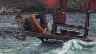 'Blue Crush' becomes 'Deep Blue Sea' as Blake Lively surfs up to a shark