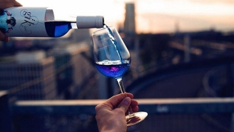 We're Sorry To Have To Tell You This, But Blue Wine Is A Thing Now