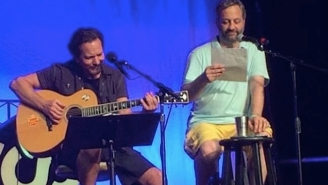 Eddie Vedder And Judd Apatow Honor The Memory Of Garry Shandling At Bonnaroo