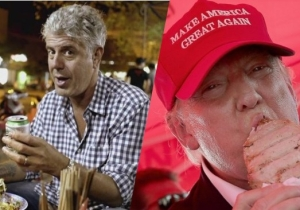 Anthony Bourdain Wants To Take 'President' Trump On A Very Different Dining Experience