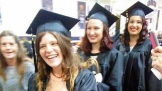 This Mom Has Gone Viral For Breastfeeding Her Daughter While Graduating