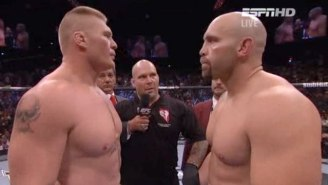 Shane Carwin Would 'Love' A Rematch With Brock Lesnar At UFC 200