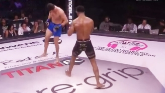 An MMA Fighter Suffered A Horrific Leg Injury At Titan FC 39