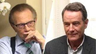 Bryan Cranston Tries, And Fails, To Explain Zordon From 'Power Rangers' To Larry King