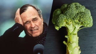 Former President To Kid: Read My Tweets, I Still Hate Broccoli