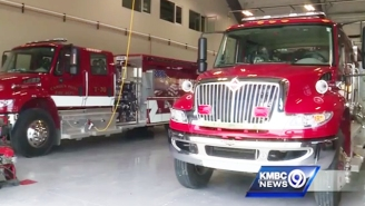 A Powerball Winner Paid It Forward By Building His Town A State-Of-The-Art Fire Station