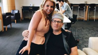 'Modern Family's' Ed O'Neill Did Not Know He Had Taken A Picture With Britney Spears