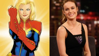We have a new frontrunner for Captain Marvel, and we think you'll like her