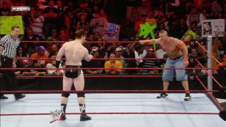 Sheamus Looks Down On John Cena Because Of His Stupid Jorts