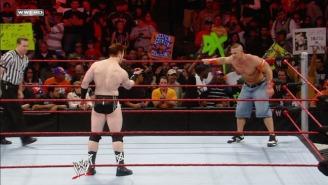 Sheamus Looks Down On John Cena Because Of His Stupid Jorts