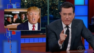 Stephen Colbert Figured Out Who To Blame For Trump In An Episode Of 'Quantum Leap'