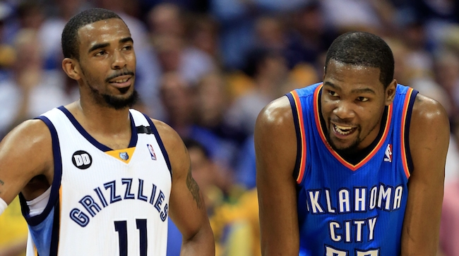 Mike Conley, Kevin Durant