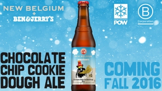 You Can Now Enjoy Ben & Jerry's Chocolate Chip Cookie Dough Ice Cream In Beer Form