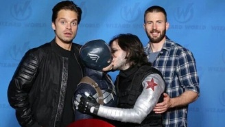 Chris Evans And Sebastian Stan Guest Star In The Cosplay Of The Week