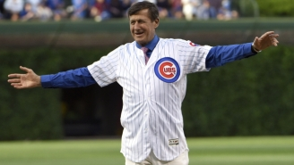 Craig Sager Helped Fans At Wrigley Field Celebrate Conquer Cancer Day