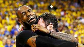 Move Over Crying Jordan, Crying LeBron Is The New Meme GOAT Of The Sports World