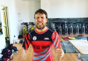 Daniel Bryan Competed In A Weightlifting Competition And Won A Sweet Samurai Sword