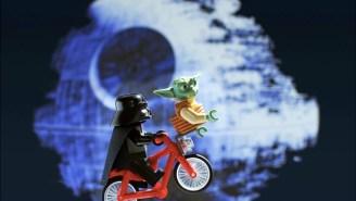 Lego Darth Vader, Batman, more minifigs make for amusing art