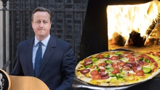 David Cameron's Big Brexit Slip-Up May Have Happened Over Pizza