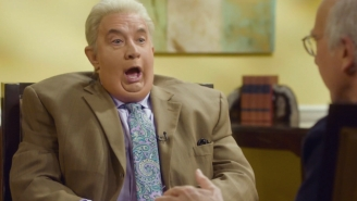 Martin Short Brought Jiminy Glick Back For A Delightful Interview With Larry David