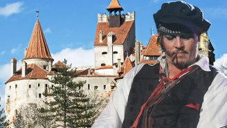 Johnny Depp Broods At Dracula's Castle As Abuse Allegations Haunt Him