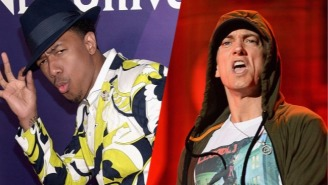 Nick Cannon Just Issued A $100,000 Rap Battle Challenge To Eminem Of All People