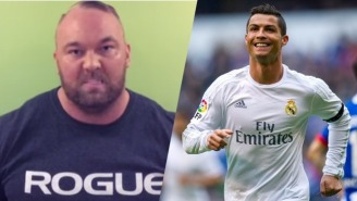 Why The Mountain From 'Game Of Thrones' Is Threatening To Crush Cristiano Ronaldo's Skull