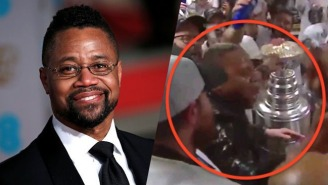 Cuba Gooding Jr. Might Go Down In History As The NHL's Greatest Party Animal