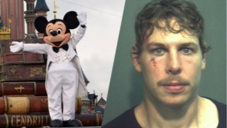 An NHL Prospect Was Arrested After Fighting A Cop At Disney World For The Dumbest Reason