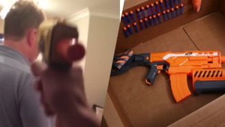 Feel The Pain Of This Dad Who's Been Terrorized Every Day With Nerf Gun Attacks