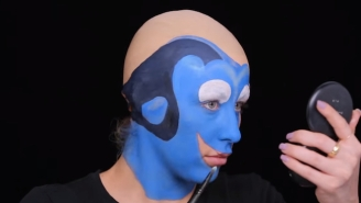 This Makeup Artist's Transformation Into Dory May Cause Your Brain To Explode