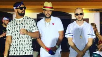 French Montana And Drake Head To The Dominican Republic For Their 'No Shopping' Video Shoot