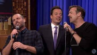 Will Forte And Jason Sudeikis Belted Out REO Speedwagon With Jimmy Fallon