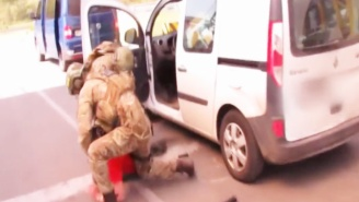 Ukraine Police Bust A Euro 2016 Terror Plot And The Video Footage Is Insane