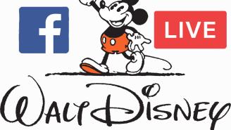 Disney gets Facebook Live fever, announces their next project via choppy video feed