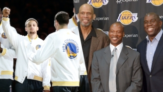 Klay Thompson's Dad Agrees That Warriors Would Beat Showtime Lakers