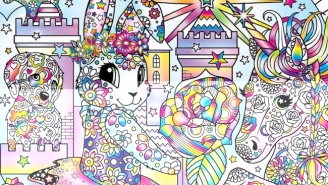Break Out The Smelly Markers, Lisa Frank Coloring Books For Adults Are Coming
