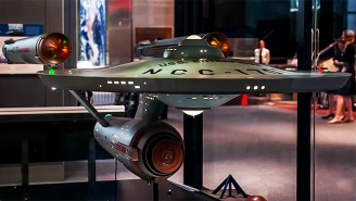 Gaze At The Beautifully Restored Original 'Star Trek' Enterprise Model Now On Display At The Smithsonian