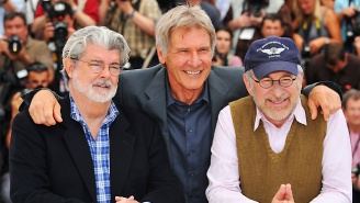 George Lucas Will Be Fully Involved In 'Indiana Jones 5' According To Steven Spielberg