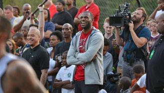 LeBron James Had Part Of Akron's Main Street Named After Him During His Title Celebration