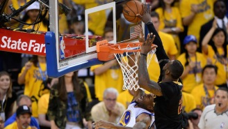 LeBron's Legendary Block Is Somehow Even Better When Told From Richard Jefferson's Point Of View