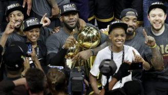 LeBron's 11-Year-Old Son Reportedly Has Standing Scholarship Offers From Kentucky And Duke