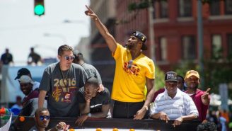 Cleveland Police Reunited 45 Lost Kids With Their Parents After The Cavs' Parade