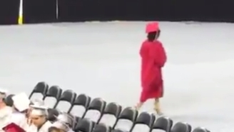 This Woman Who Left Her High School Graduation Right After Receiving Her Diploma Is The Real Valedictorian