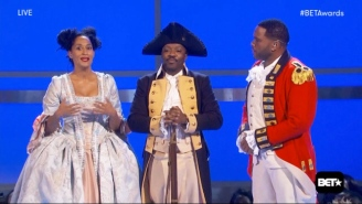 Anthony Anderson And Tracee Ellis Ross Bring 'Hamilton' To The BET Awards