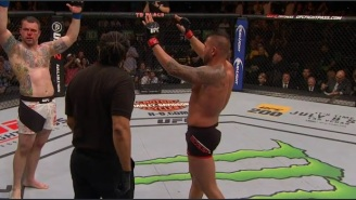 This UFC Referee Stopped The Fight Of The Night Early, But Neither Fighter Cared