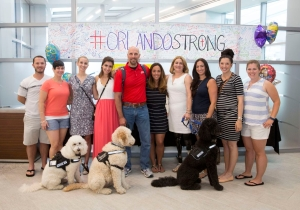 A Group Of Boston Bombing Survivors Paid An Uplifting Visit To Orlando Survivors