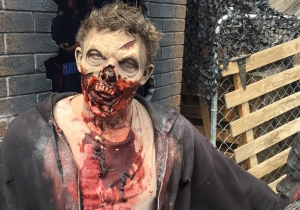 Universal's 'Walking Dead' attraction: Lots of blood, but hoping for more