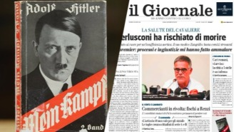 An Italian Newspaper Got The Reception You'd Expect When It Had A 'Mein Kampf' Giveaway