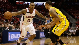 The Hawks Are Reportedly Trading Jeff Teague To Indiana In A Three-Team Deal Involving George Hill